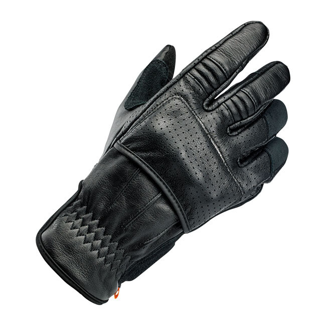 Перчатки BILTWELL BORREGO GLOVES BLACK CE APPR.